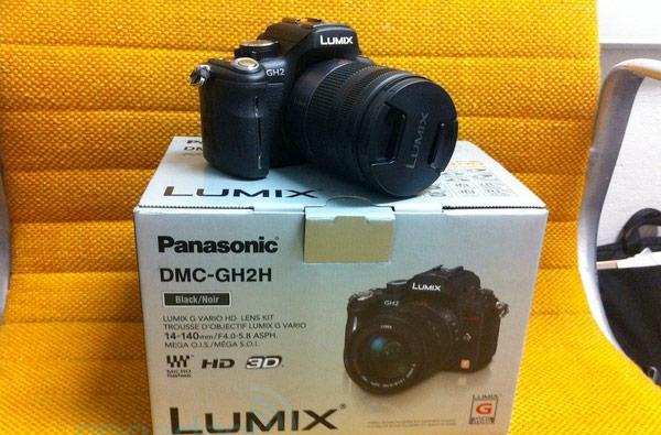 Panasonic's Lumix GH2 now shipping in America