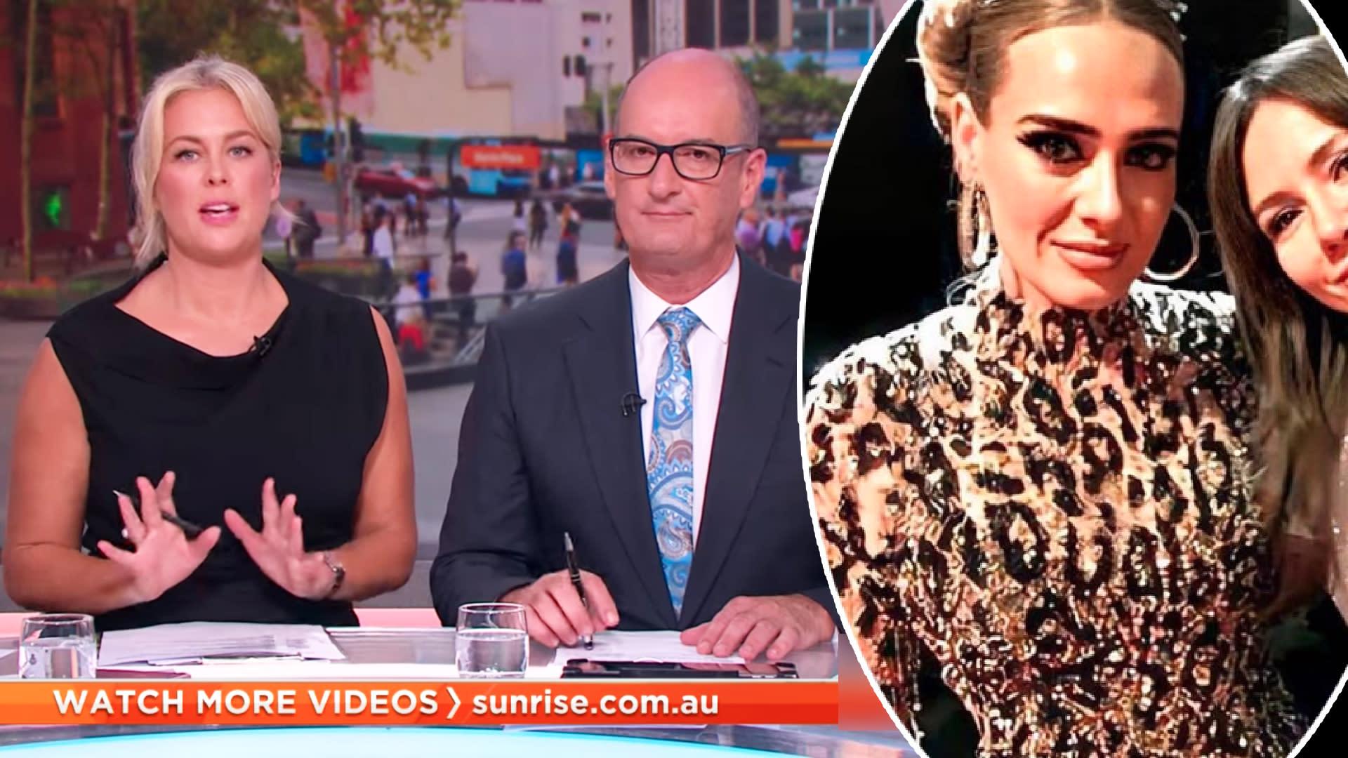 'Is that dangerous?': Sunrise slammed over Adele weight loss story