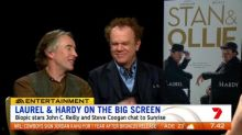 """Stan and Ollie' stars sit down with Eddy"