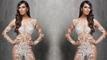This Naked Bridal Jumpsuit Exists and Wow, OK, 2018 Is Wild Already