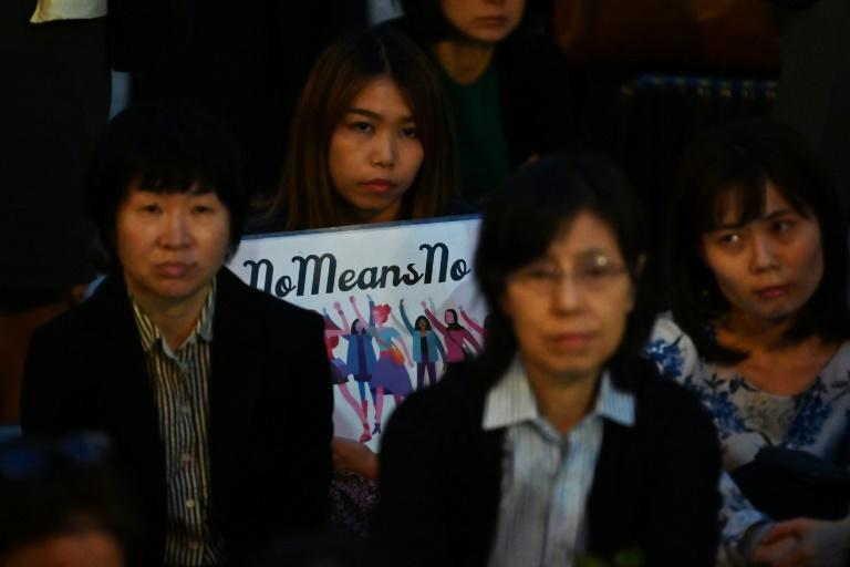 Protecting rapists': Protesters accuse Japan of failing women