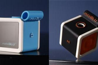 mobiBLU's Cubisto does that whole cube thing on a budget