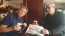 Beer we go! Inside a London Wetherspoons as pubs re-open and drinkers order first pints in months