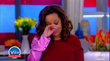 Sunny Hostin's emotional Puerto Rico visit on 'The View'