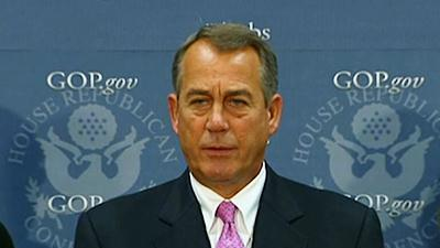 Boehner: Concerns About Info Sharing in Bombings
