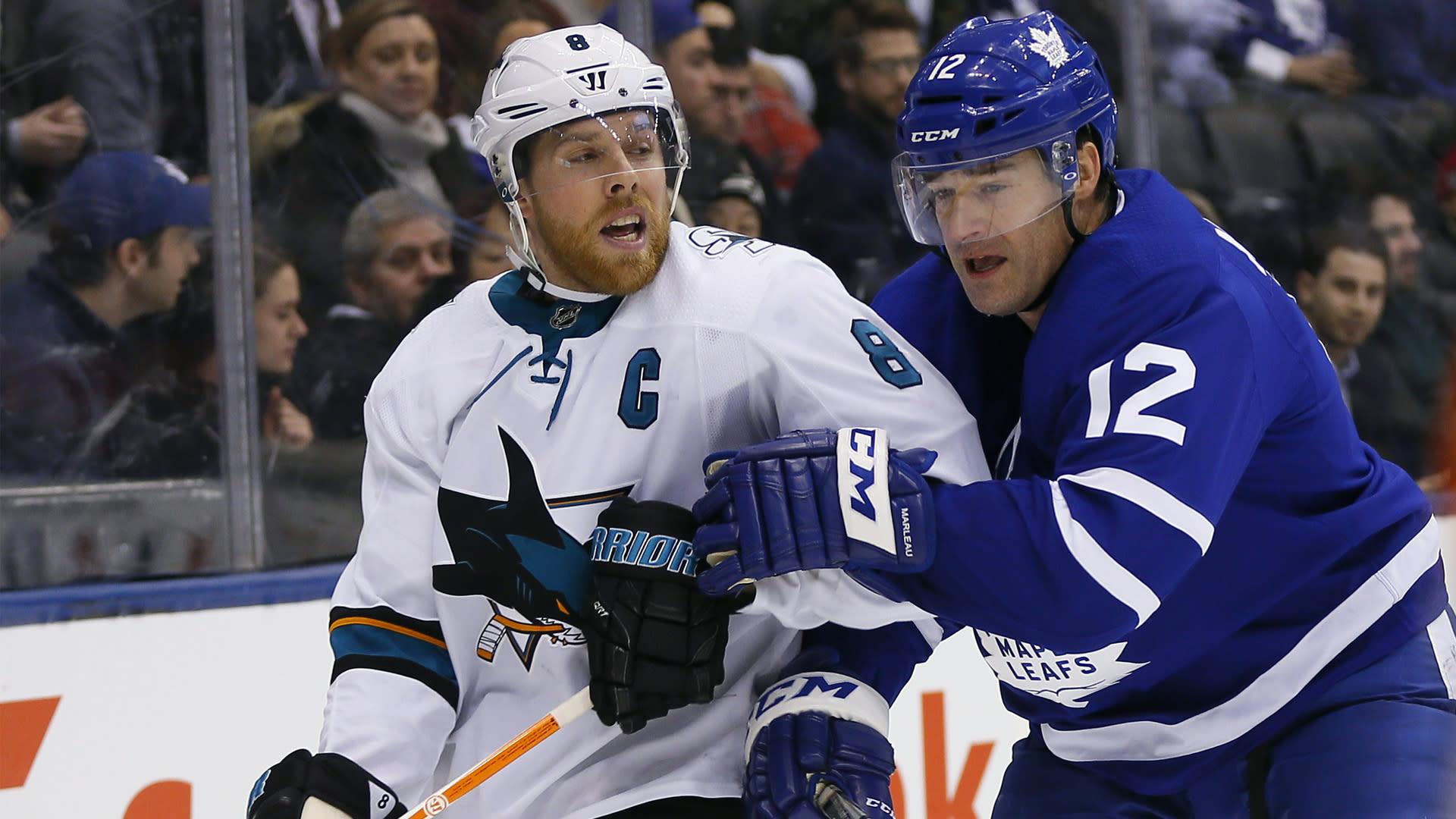 Nhl Rumors Maple Leafs La Kings Have Talked Patrick Marleau Trade