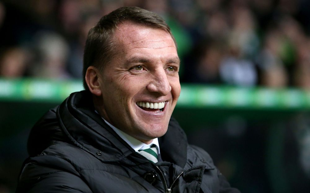 Brendan Rodgers, theCeltic manager, was not impressed withDon Robertson's performance recently - PA