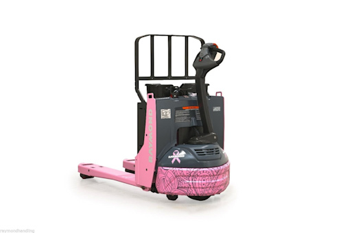 Raymond Handling Launches Pink Pallet Jack Online Auction to Benefit Breast Cancer Charities