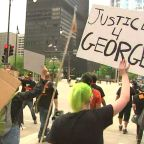 Chicagoans march in Loop to protest George Floyd's killing
