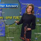 Chicago Weather: Winter Weather Advisory issued for Tuesday in Chicago area bringing snow, sleet and freezing rain