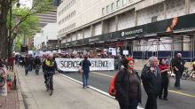 Crowd Rallies in March for Science in Philadelphia