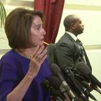 Nancy Pelosi Says President Trump Is 'Engaged in a Cover Up' But Urges Patience