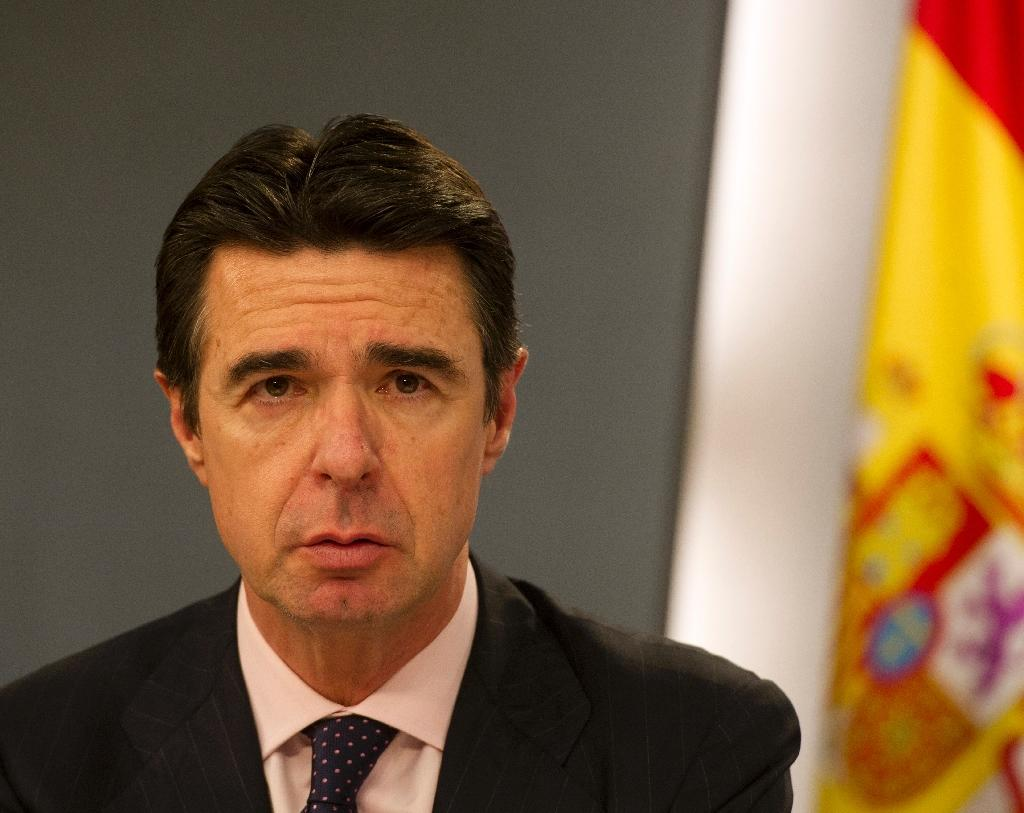 Spain's industry minister Jose Manuel Soria (pictured) resigned over allegations he had links to offshore companies (AFP Photo/Eduardo Dieguez)