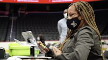 NBA moms volunteering as poll officials on Election Day