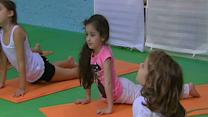 Yoga studio offers classes for kids