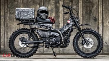 「國民車」變「國民兵」!Honda Hunter Cub「Combot」戰鬥改裝版