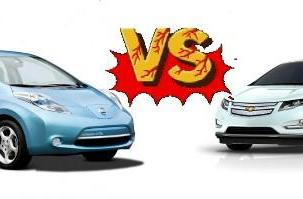 Leaf sales outpacing the Volt, winning the fight for American garage space