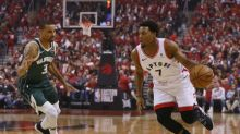 Lowry, Raptors down Bucks, level East finals