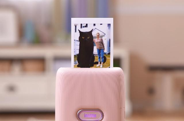 Instax Mini's latest feature lets you digitally doodle on your photos