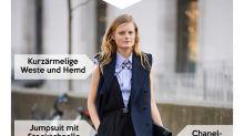 Look des Tages: Hanne Gaby Odiele spielt mit ihrer Androgynität