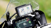 Mit der App auf Motorrad-Tour