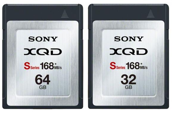 Sony S-Series XQD memory cards hit speed record at 168MB/s, starting at $500 for 32GB in Japan
