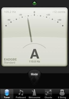 Count the beats: Tuning and more with Guitar Toolkit for iPhone / iPod touch