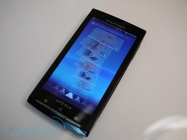 Sony Ericsson Xperia X10 getting Gingerbread in August, can finally show face in public (video)