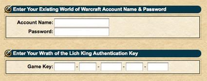 Wrath Beta keys sent out to BlizzCon and WWI code holders