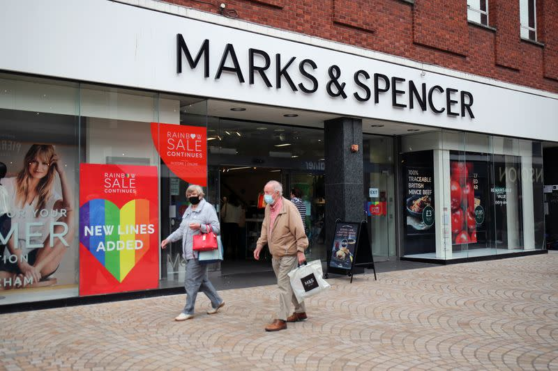 M&S slides to first loss as coronavirus hammers clothing sales