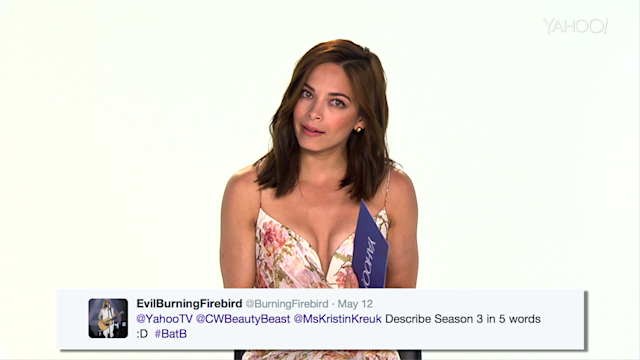 'Beauty and the Beast's' Kristin Kreuk Answers Your Twitter Questions