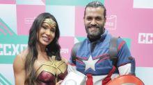 "Gracyanne Barbosa faz cosplay de Mulher Maravilha: ""Gostaria de poder voar"""