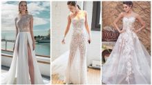 'Naked' wedding dresses are the bridal trend of 2019