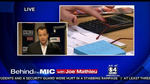 Behind The Mic With Joe Mathieu: IRS Cuts Back On Audits