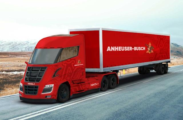 Anheuser-Busch will haul beer in Nikola hydrogen-electric trucks