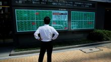 Asian shares weighed down by China worries as U.S. earnings shine