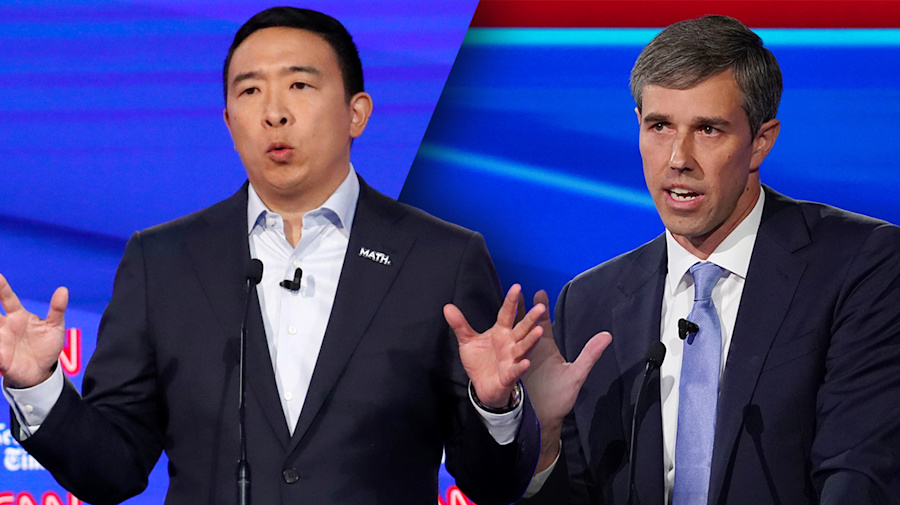Yang, O'Rourke agree on how to control opioid crisis