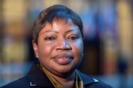 Fatou Bensouda, Prosecutor of the International Criminal Court (ICC), poses for pictures at the European Council in Brussels