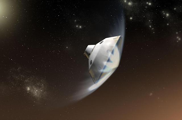 Mars 2020 lander's heat shield cracks in testing