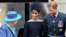 The queen 'would love to have a relationship' with Harry's son Archie