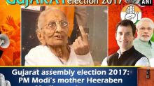 Gujarat assembly election 2017: PM Modi's mother Heeraben Modi casts her vote