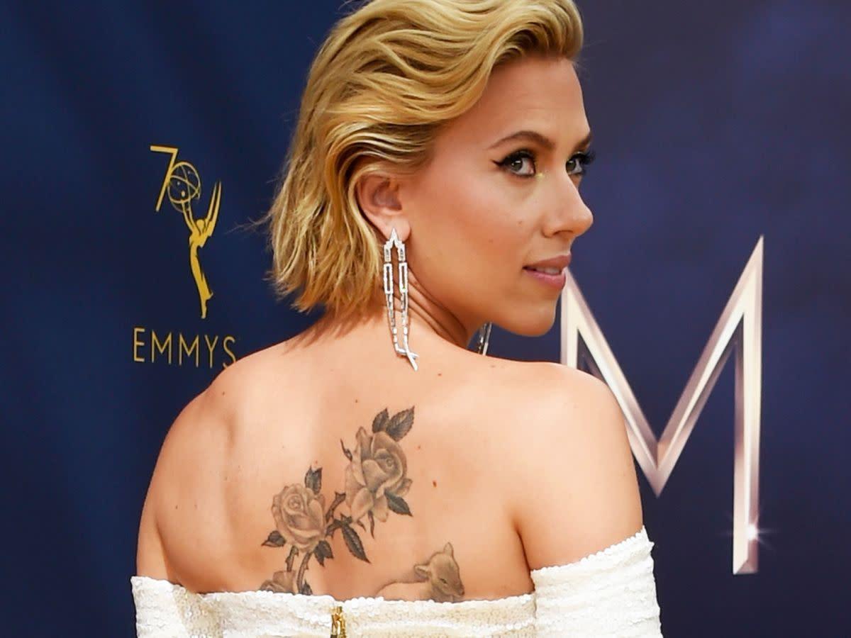 Scarlett Johansson Finally Reveals Her Huge New Back ...