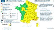 Orages : les Bouches-du-Rhône et le Var en vigilance orange