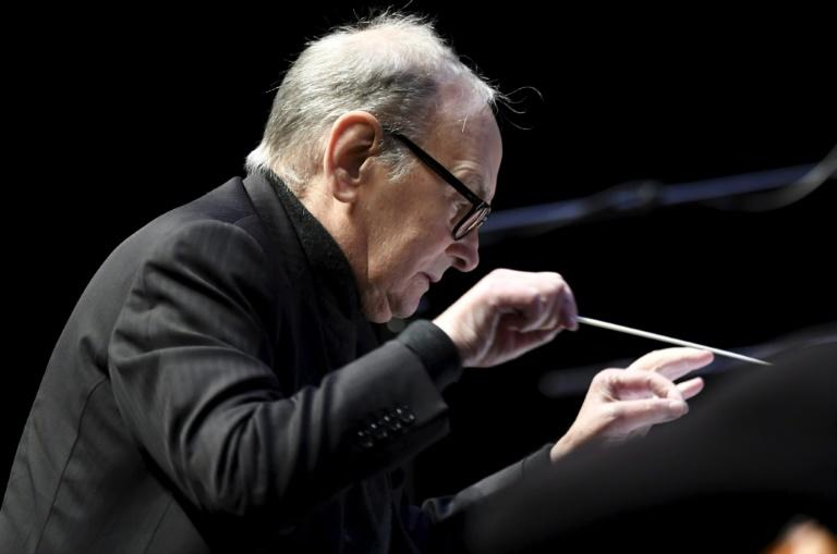 Ennio Morricone wrote the music for some 500 films in a career that spanned nearly 60 years (AFP Photo/Heikki Saukkomaa)