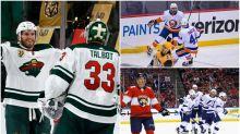 NHL Playoff Buzzer: Plenty of drama, OT in Game 1 action on Sunday