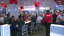RAW: Chick-fil-A opens in the Loop