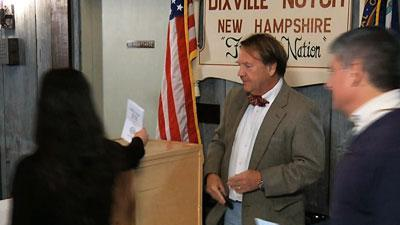 Raw: NH residents cast first Election Day votes