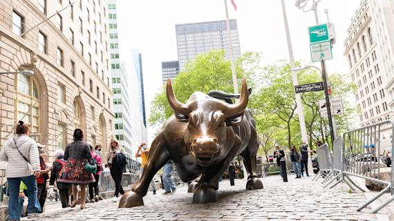 Stocks drop after data paint mixed economic picture
