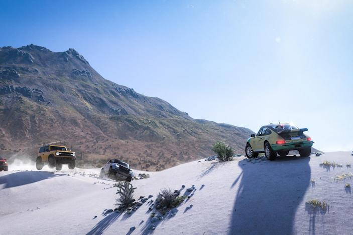 'Forza Horizon 5' hands-on: A Ford Bronco fever dream in the desert