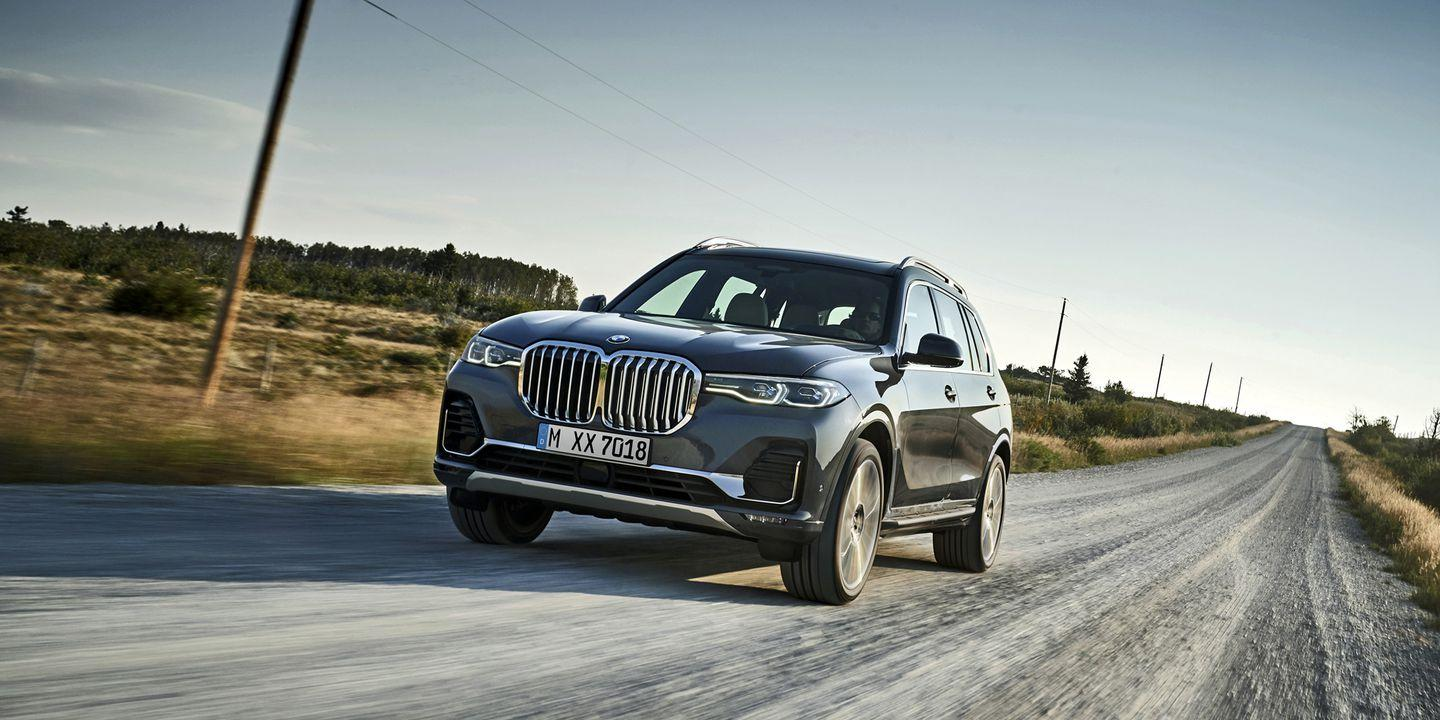 the 2019 bmw x7 is the biggest bimmer suv ever
